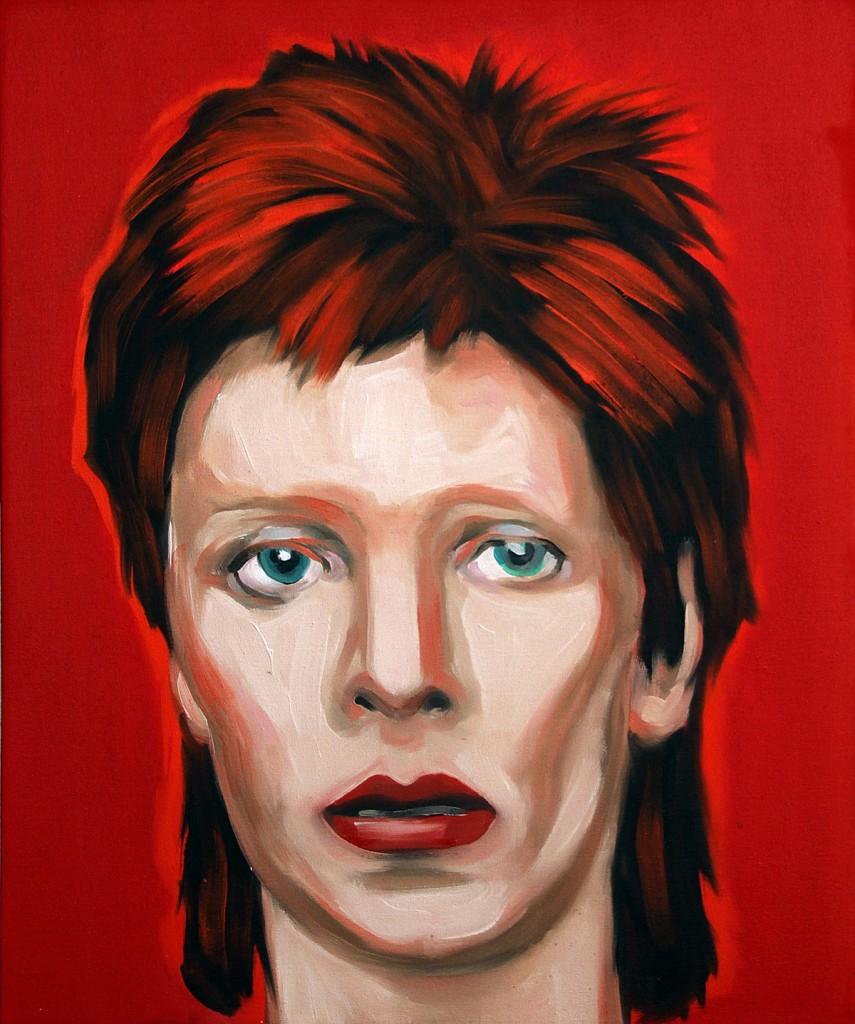 Jossef Krispel, Untitled (David), Oil on canvas, 54x65cm, 2013