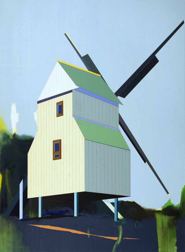 Windmill, oil on canvas, 190x140cm, 2012