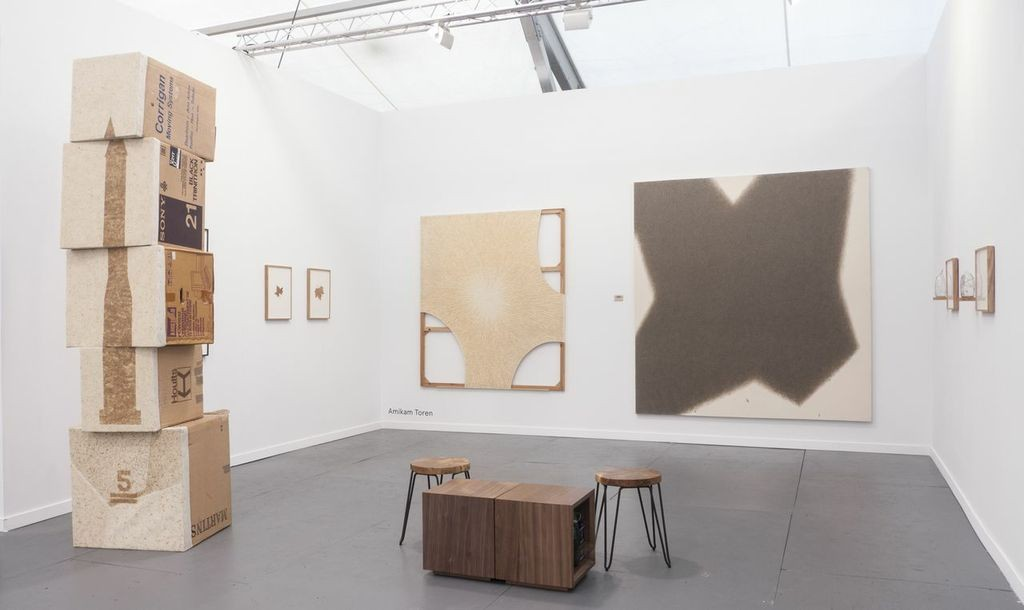 Amikam Toren, Frieze New York (Jessica Silverman gallery), Installation View, 2014