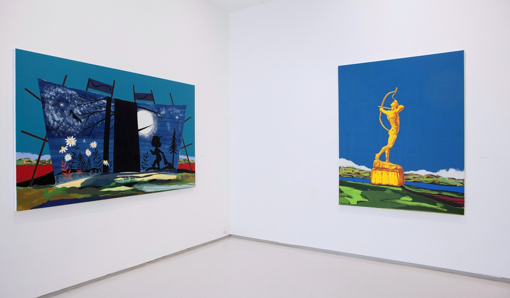 the young mariner, exhibition view, noga gallery of contemporary art, 2015
