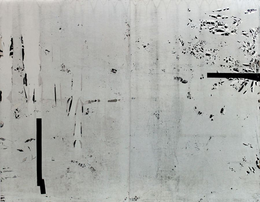 White Night, mixed media, 260x210cm, 2015