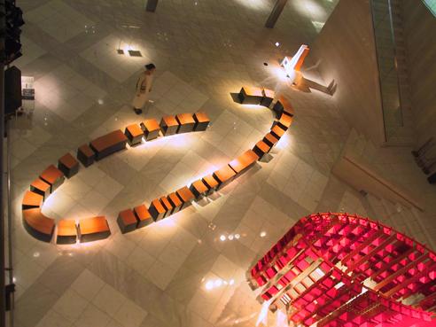 Chanan De Lange, Installation, Ozone, Tokyo, Japan, 2002