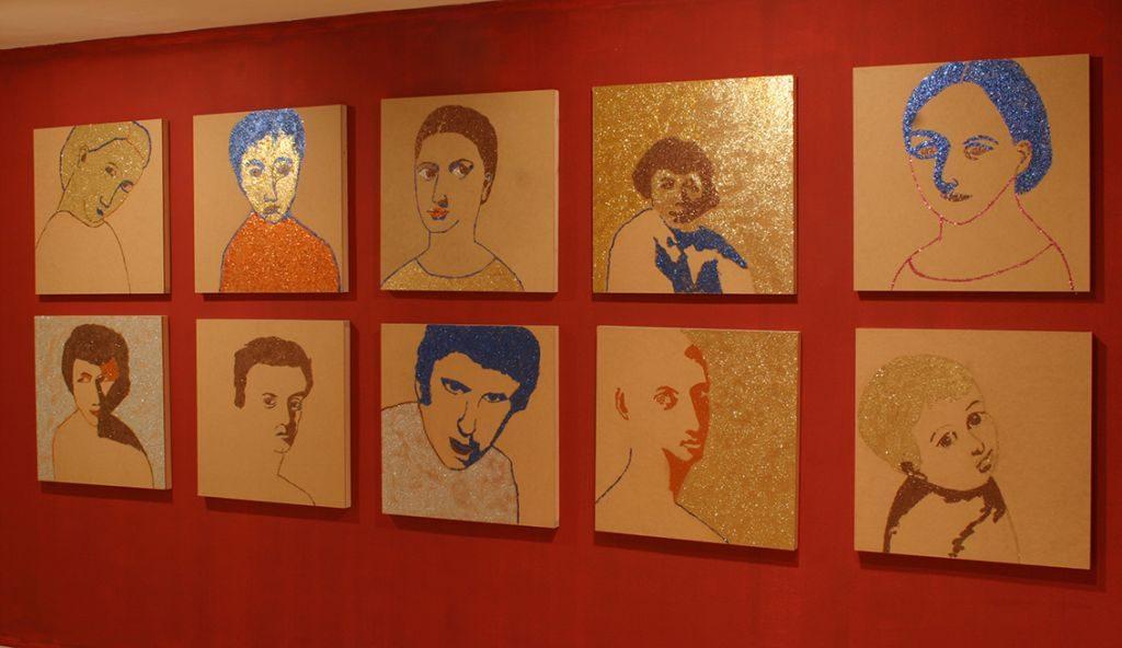 Dina Shenhav, Divine bet, Julie M Gallery, Tel Aviv, Israel, 2004