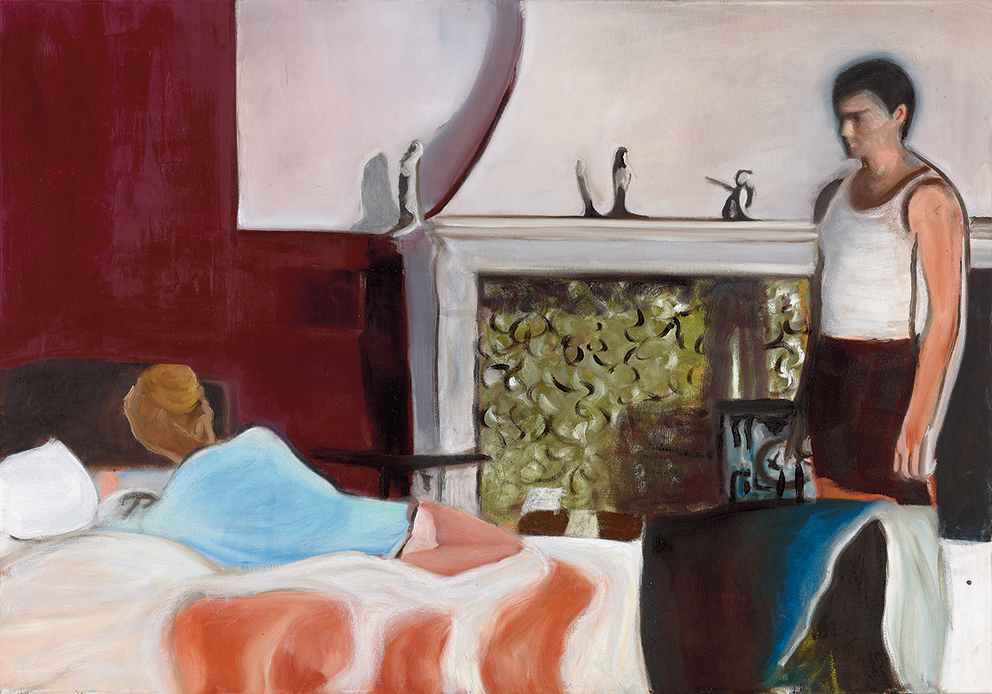 bed time, 70x100 cm, oil on canvas,2016