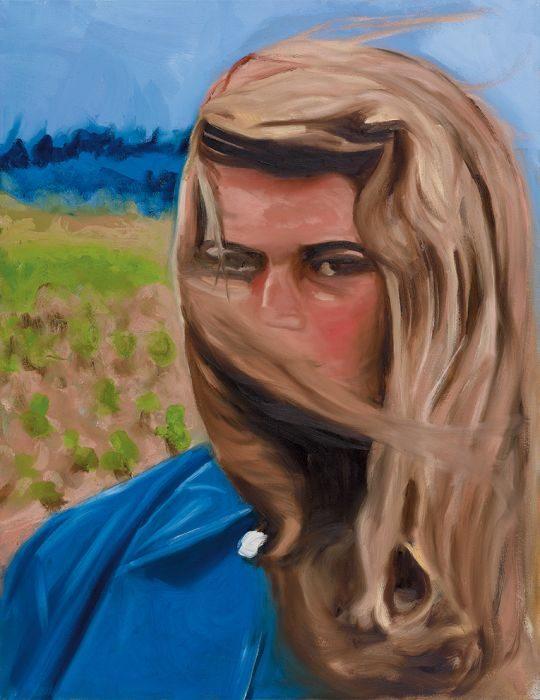juliette 1, oil on canvas,65x50 cm.2016