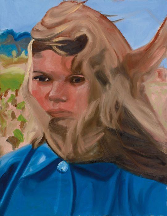 juliette 2,oil on canvas, 65x50 cm,2016