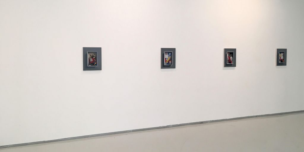 Memories from the Future, installation view, Noga Gallery, 2017