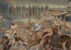 Nogah Engler, Gap, oil on canvas, 30x40 cm, 2018