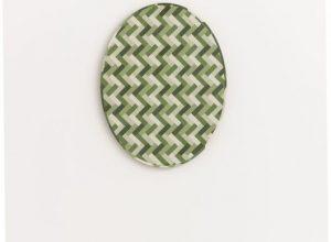 Joshua Borkovsky, Mirror, 2011, distemper on gesso on wood, 52x40 cm