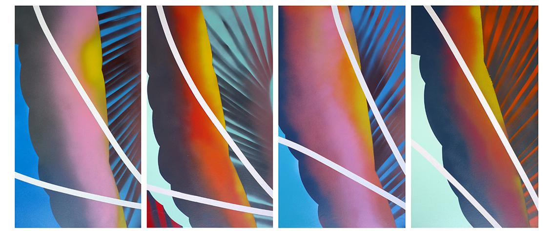 Each Canvas, 70x40cm