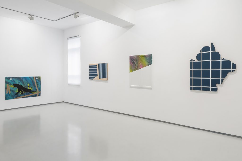 Oriental Background, Installation View, Noga Gallery, 2018