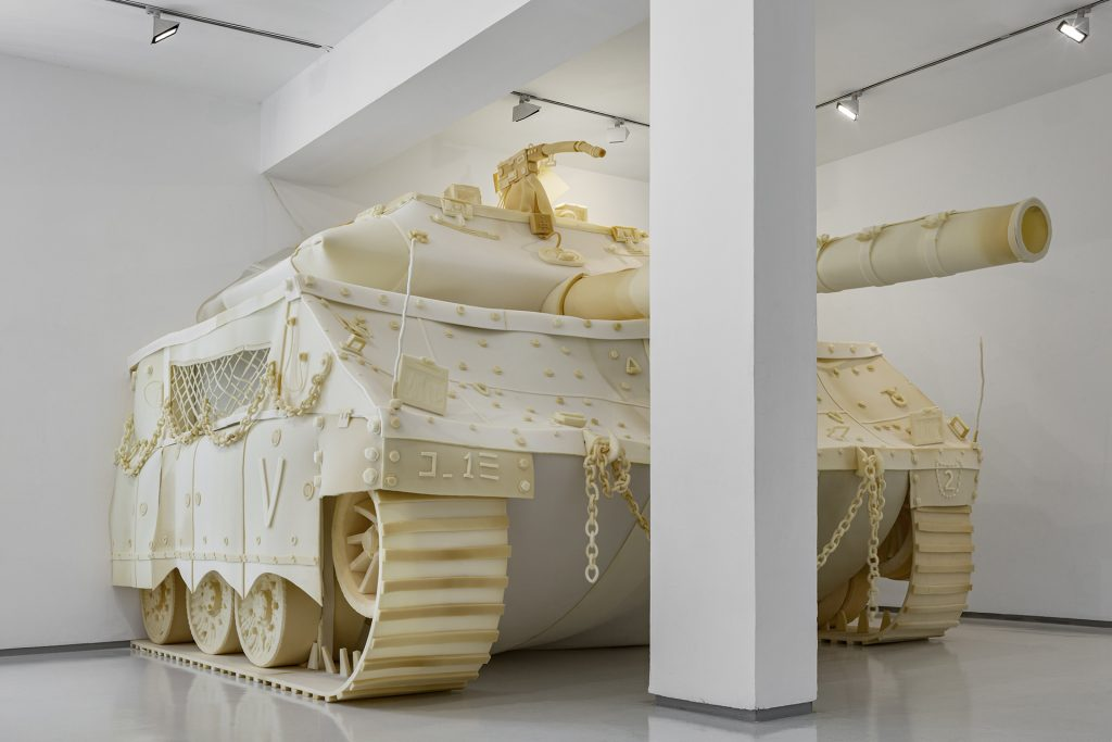 merkava, installation view, noga gallery, 2019