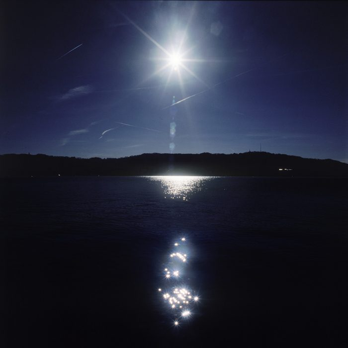 Naomi Leshem, Lake of Zurich, 2016, Archival UV Print, 100x100cm