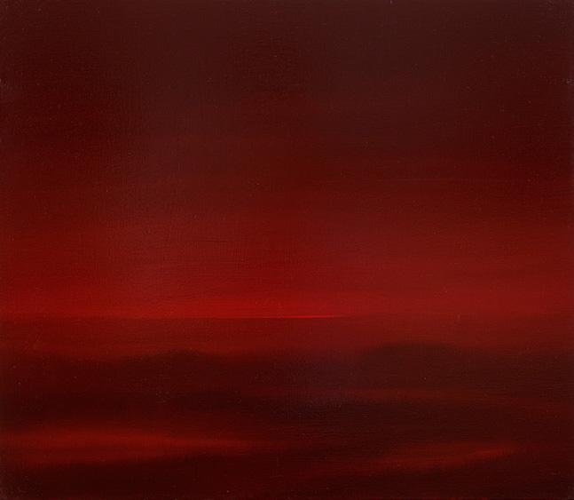 Crimson fields, oil on canvas. 80×80, 2011