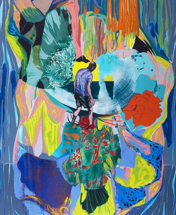 Self Portrait, 2020, Oil on canvas, 170x140cm
