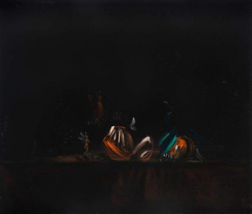 Eti Jacobi, Untitled #1, 2020, Acrylic on canvas, 40x40cm