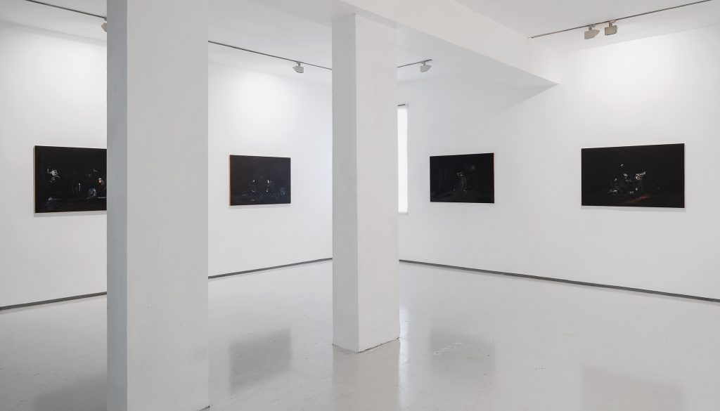 Eti Jacobi, Exhibition View, Noga Gallery, 2021
