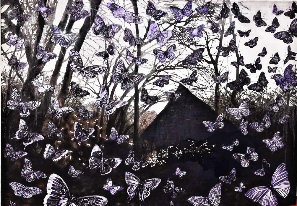 Anat Betzer, Untitled 12, 2005, oil on canvas, 80x100 cm