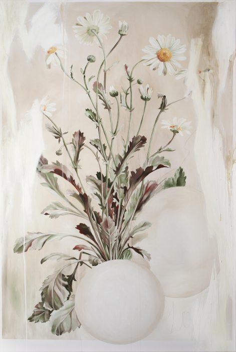 Anat Betzer, Untitled 14, 2018, oil on canvas, 150x100 cm