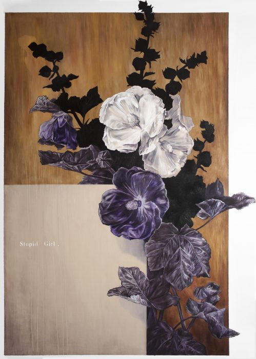 Anat Betzer, Untitled 10, 2018, oil on canvas, 150x100 cm