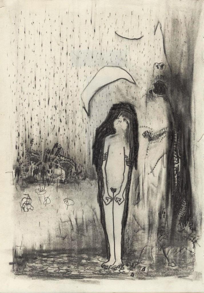 Shahar Yahalom, Untitled, Pencil on paper, 30x22cm, 2012
