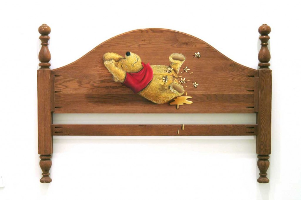 משענת מיטה-דובי