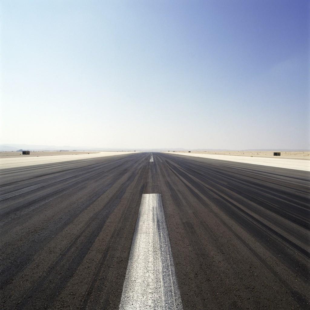 Naomi Leshem, Runway 4, Archival Pigment Print, 120x120 cm, 2007