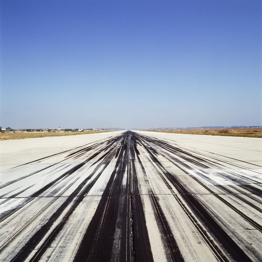 Naomi Leshem, Runway 4, Archival Pigment Print, 80x80cm, 2007