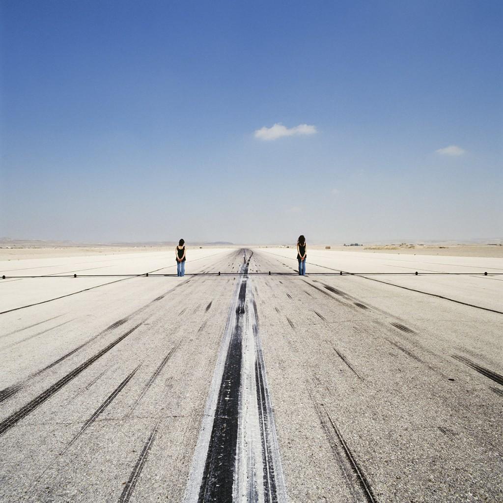 Naomi Leshem, Banot, Archival Pigment Print, 120x120 cm, 2007