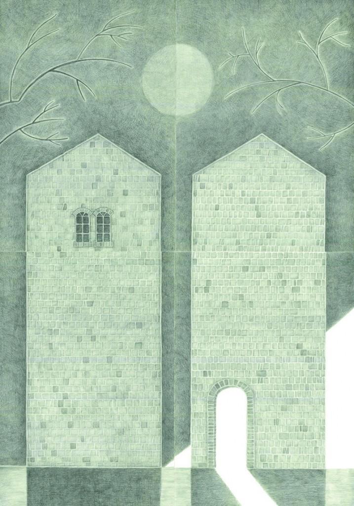 Alexandra Zuckerman, After moon triology (part 3), 150 118x94cm