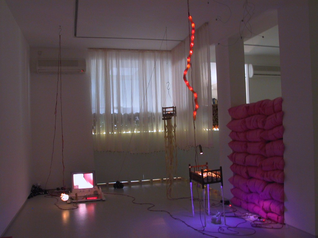 I Need Someone to Feel, Installation view, Noga Gallery of Contemporary Art, 2002