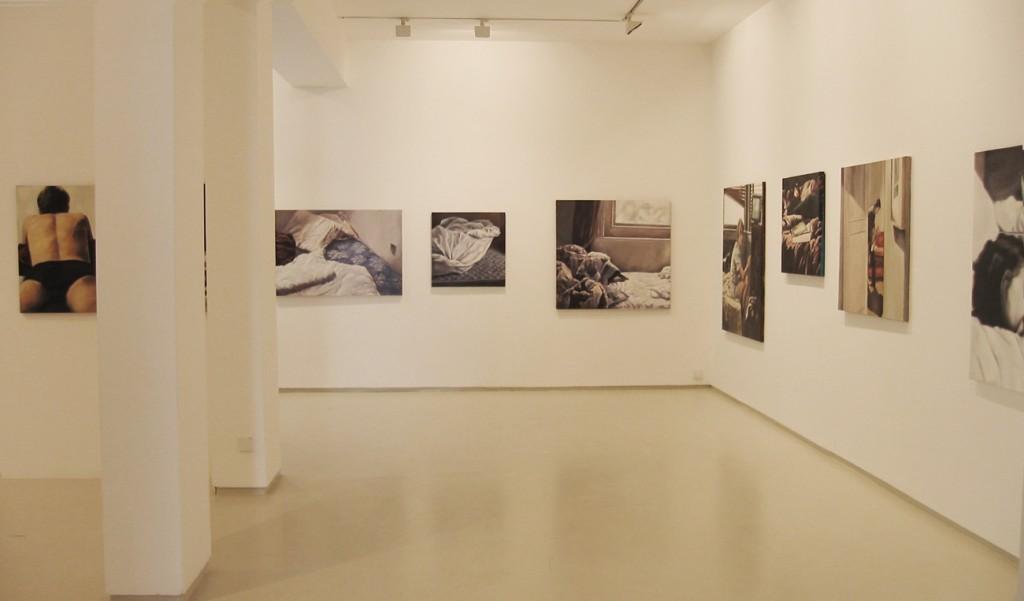 Bedroom eyes, Exhibition view, Noga Gallery of Contemporary Art, 2003