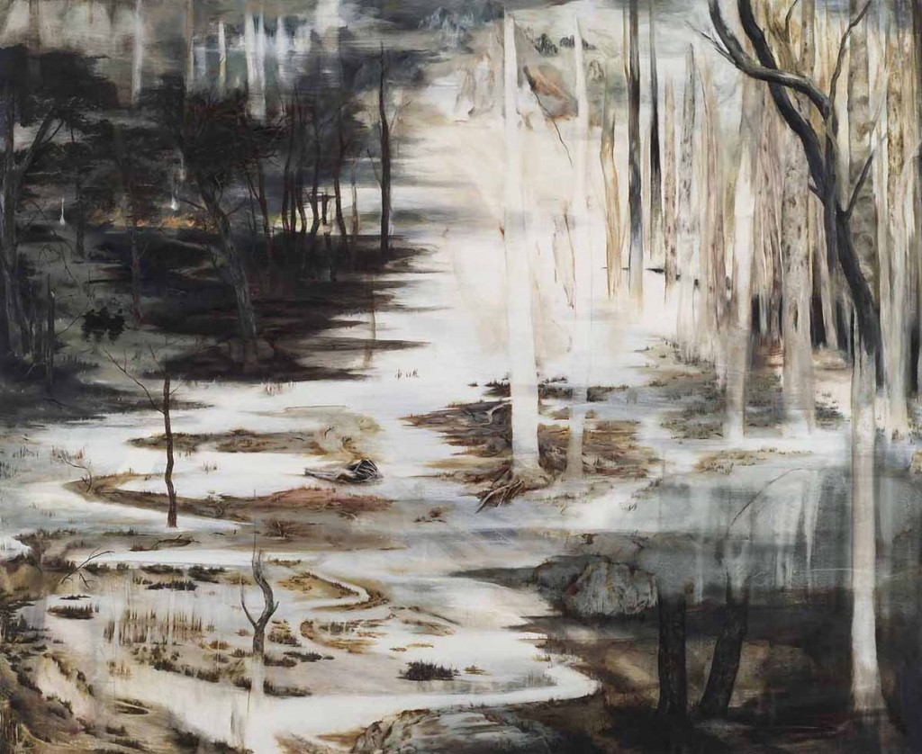 Black Boat. oil on canvas, 127x103cm , 2009