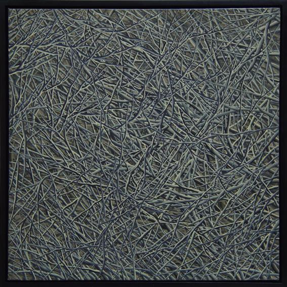 Svach, oil on canvas, 80x80cm, 2003