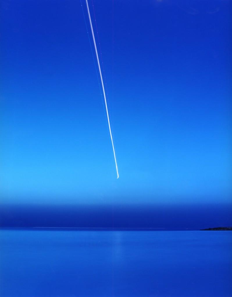 Ori Gersht, Crossing Line, C-print, 120x150cm, 1999-2000
