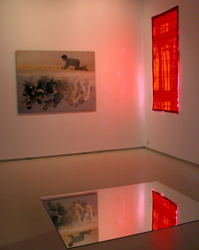 Liberty (leading the people), Installation view, Noga Gallery of Contemporary Art, 2003