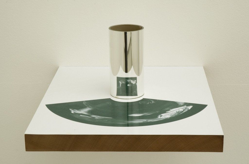 Echo & Narcissus, Mirrors, the Garden/ Anamorphoses, Installation view, Noga Gallery of Contemporary Art, 2003
