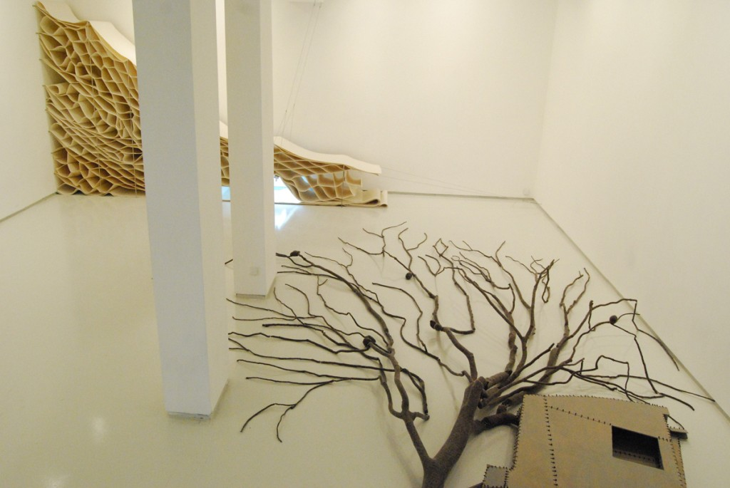 Tree House, Installation view, Noga Gallery of Contemporary Art, 2008