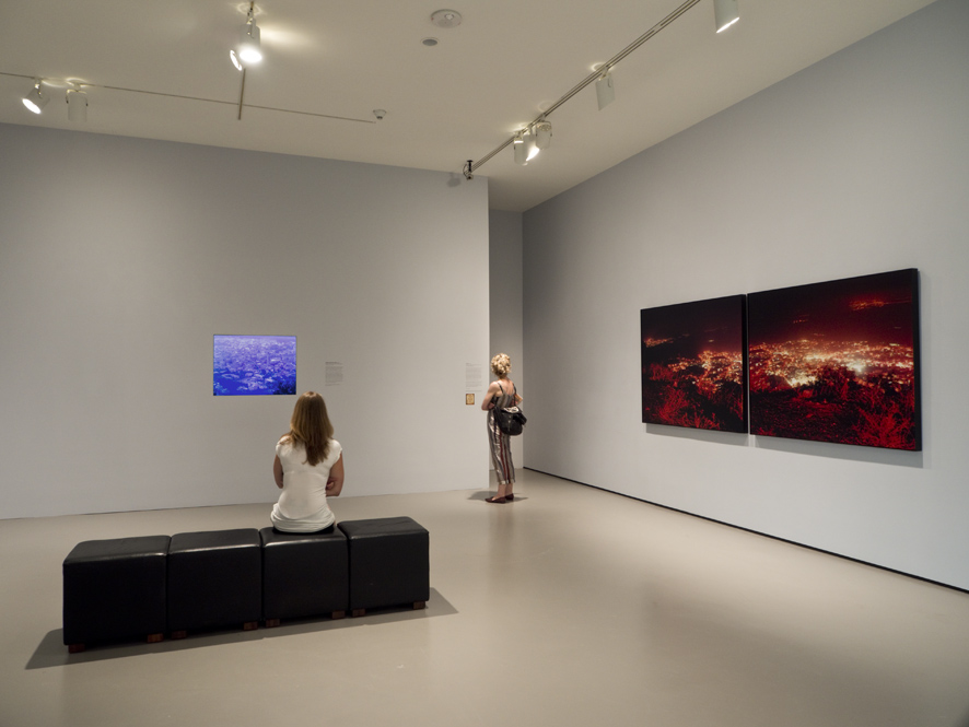 Ori Gersht, History Repeating, installation view, Museum Of Fine Art Boston, 2012