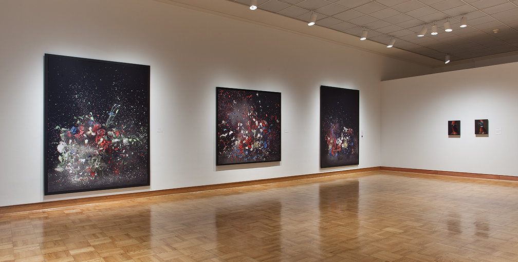Lost in Time, Installation View, Santa Barbara Museum, 2011