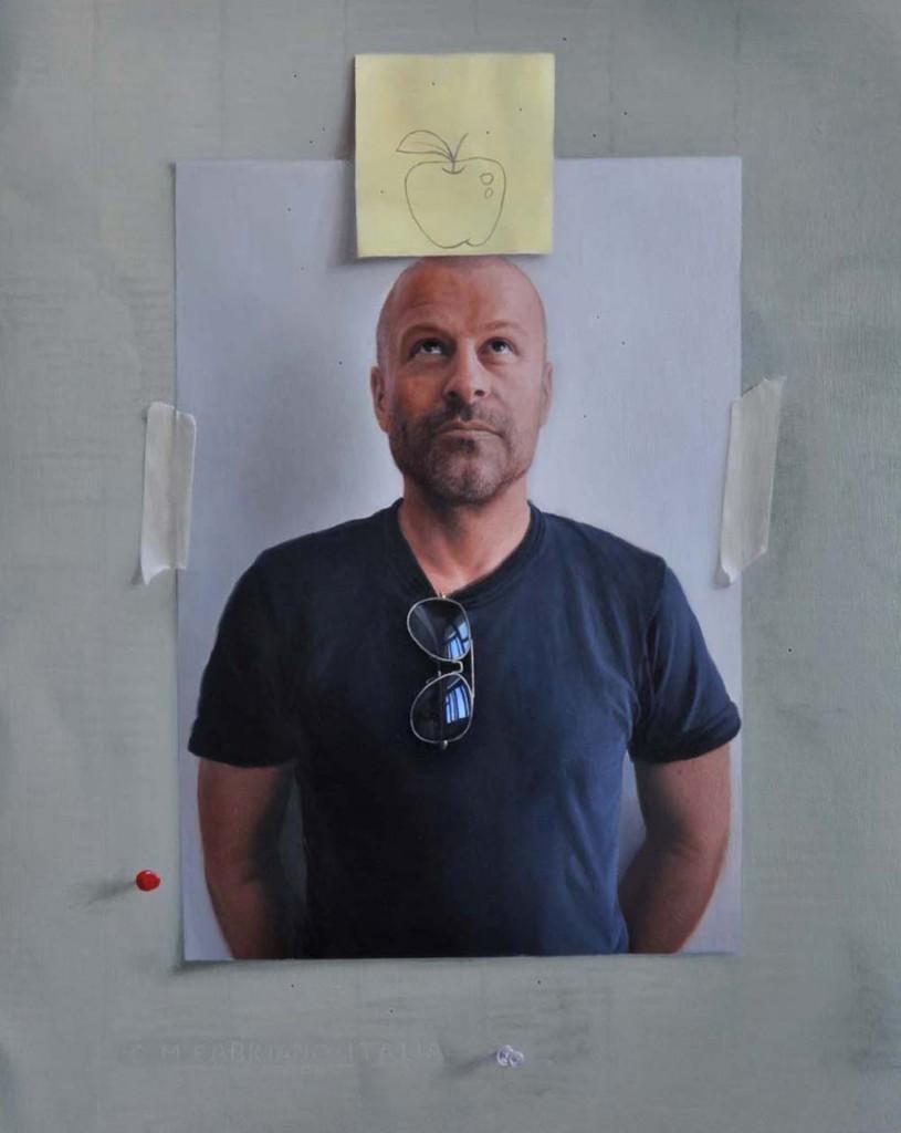 Michael Halak, Kiven, Oil on Plywood, 50x40cm, 2011