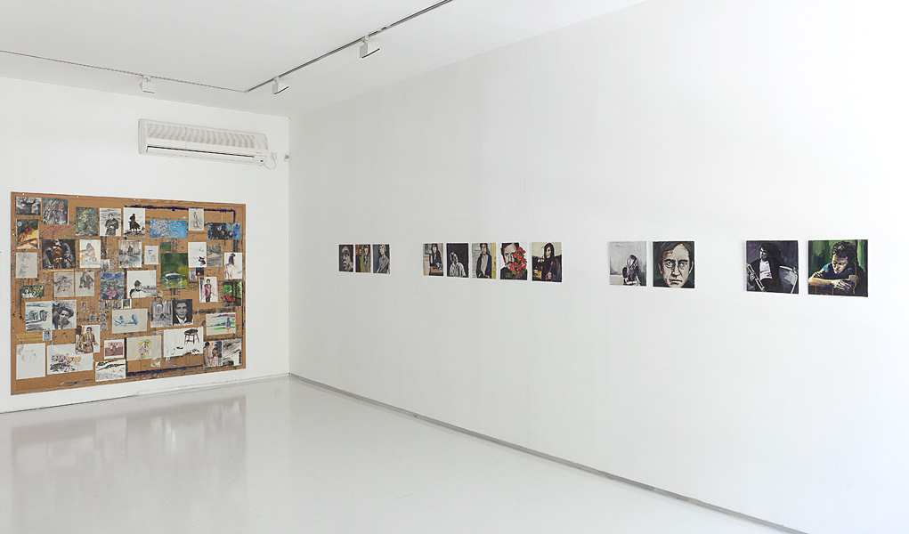 B-Side Painting, Exhibition view, Noga Gallery of Contemporary Art, 2010