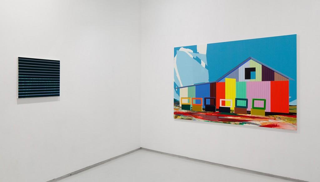 Moon Walks, Exhibition view, Noga Gallery of Contemporary Art, 2013