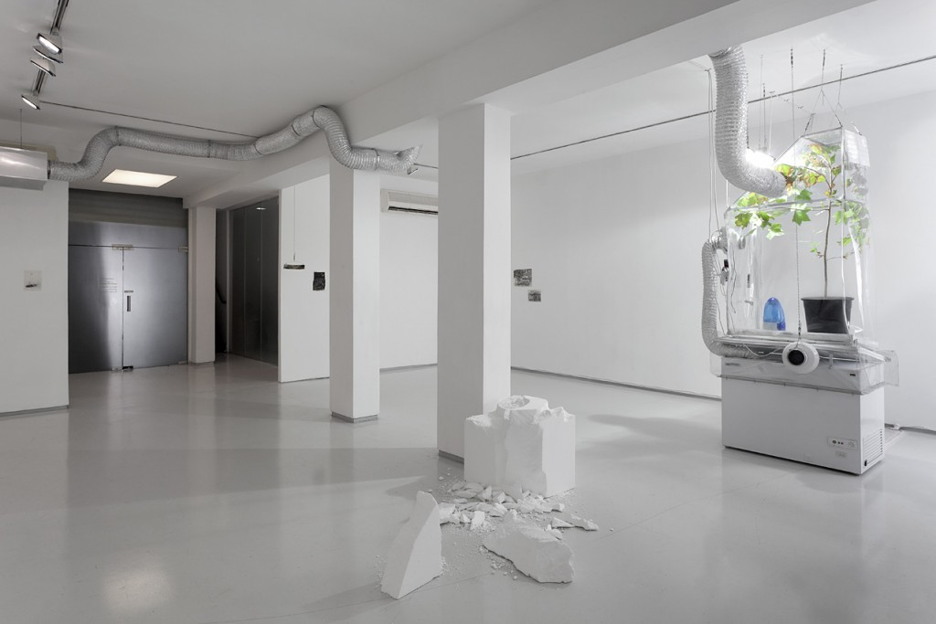 Ed, Installation view, Noga Gallery of Contemporary Art, 2012
