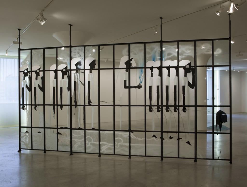 Shahar Yahalom, MFA, Installation view, 2014