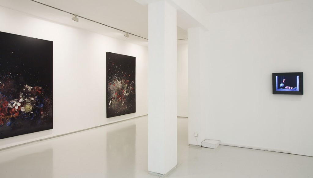 Folding Time, Exhibition view, Noga Gallery of Contemporary Art, 2008