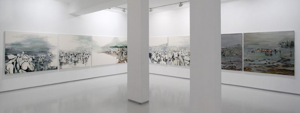 Sea of Galilee, Exhibition view, Noga Gallery of Contemporary Art, 2012