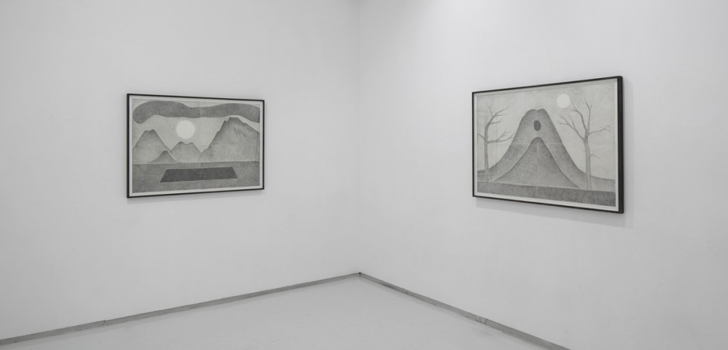 What the moon saw, exhibition view, Noga Gallery of Contemporary Art, 2013