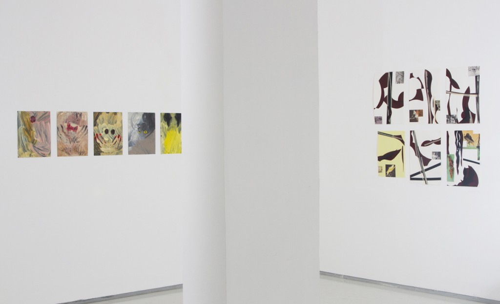 Archive Skin, Exhibition view, Noga Gallery of Contemporary Art, 2014