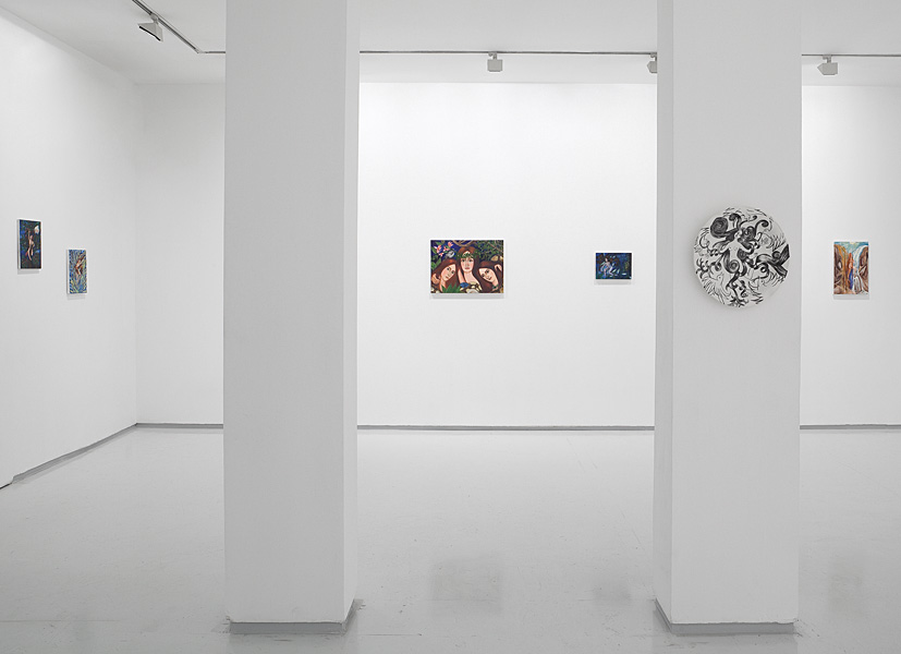 Lilian Adventures, Exhibition view, Noga Gallery of Contemporary Art, 2010